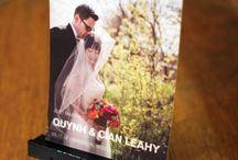 wedding announcements — Sugar Pear Design