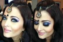 beautiful arabic and bollywood makeup