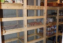 Build Cold Storage room for canning / How to build a cold storage room in your basement to preserve your kitchen vegetable and store your canning ? ►1: Framing and ventilation system  ►2: Installing storage shelves  ►3: Build the vegetable bins  ►4: Building Tips and finishing