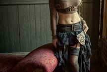 Steampunk. Girl. Beauty