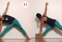 Yoga at the Wall / Wall Yoga