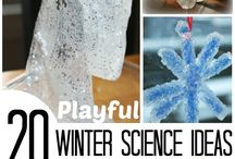 Winter Activity Board / We've hand-picked the best things for your kids to do during the winter!