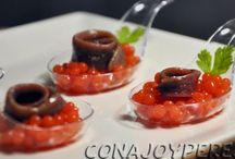 Caviar recitas