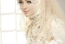 hijab for bridal :)