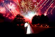 Wedding fireworks / Artistic, fountains, outdoor displays