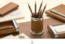 Desk Accessories / The accessories of the Graf von Faber-Castell Collection are perfectly coordinated with the high quality writing instruments in the collection.  #pens #fueller #weddinggift #handmadeingermany #fabercastell