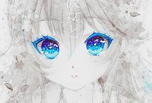 anime gözleri