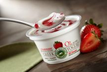 Greek Yogurt / Try our new artisan Greek yogurt from Green Mountain Creamery! This deliciously simple, smooth and creamy all-natural treat boasts five live and active yogurt cultures, probiotics, and lots of protein and calcium. Fresh from Green Mountain Creamery in Vermont, it's the next hit on your snack list.  Our new Greek yogurt will come in 8 flavors: Black Cherry, Maple, Strawberry, Blueberry, Peach, Vanilla, Plain, and Raspberry.