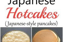 Hot cakes japoneses