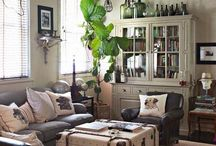 Living room ideas  / by Bekah Lynn