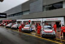 WTCC / Carros do WTCC no Circuito de Vila Real.