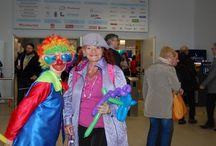 Wynajem klauna / Nasza firma prowadzi wynajem klauna na eventy, festyny czy urodziny. Nasz klaun prowadzi warsztaty z modelowania balonów.