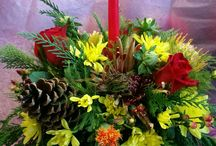 Holiday Arrangements / Creative arrangements for the holiday.