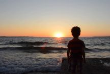 The Little Boy and The Sea