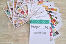 Scrapbooking - Project Life und Smash