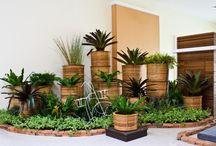 jardins internos e externos