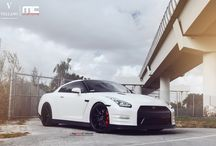"Nissan GT-R l Vellano VKS 21"" Concave / Check out this stunning Nissan GTR sitting on a set of Vellano 21"" Concave."