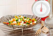 Healthy Cooking Tips / Tips to help you prepare your food so that you get the most nutrition out of your food and the least amount of unhealthy additions, like sugar, sodium and saturated and trans fats.