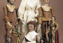 Dolls - Wood / Hand crafted dolls and vintage dolls, made from wood