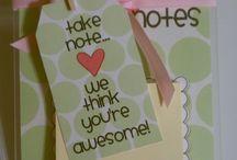 Teacher appreciation gifts / by Michelle Mecham