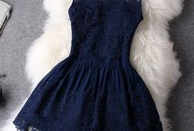 Fashion... / My style of clothing: vintage, classy, gothic in black, grey, white and blue.