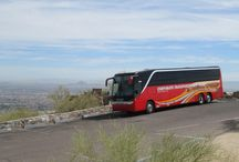 Motorcoach & Bus Images / Pictures of the coaches and busses used on tour!