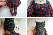 Textil figurák