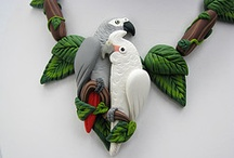 Polymer Clay Animals and Pets / Polymer Clay Animal and Pet sculptures, trinkets, miniatures and more / by MagicByLeah