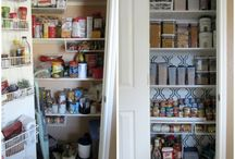 Kitchen, pantry, & food storage  /   / by Robbie Lowry