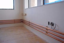 Copper pipe heating
