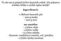 recepty :)