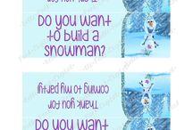 Olaf: I love warm hugs