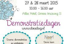 Demodagen 15 (Atlas Hotel 1) / Op vrijdag 27 maart 2015 waren er weer de demonstraties en workshops van Doe@ding in het Atlas Hotel.