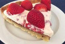 Jordbær kage