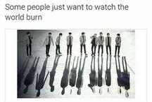 Exo (mostly CHANYEOL)