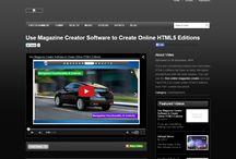 Create Online HTML5 Magazines