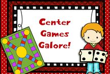 Center Games Galore! / This board has games, games, and more games!  What a fun way to practice those skills!  Center games, small group games, homework games, and more!  If you pin to this board, please pin 1 freebie or great idea for every paid idea.  Thanks!