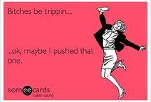 funny (;