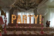 Marquee Lights for Weddings & Events / Marquee lights for any event .... corporate, social, fundraising, Bar/Bat Mitzvah, showers.  You name it, we'll build it!