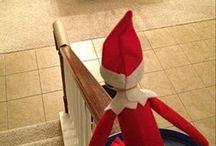 Elf on the shelf ideas / by Kaitlyn Batten