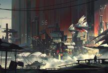 Theme: Sci-fi City