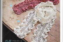Crochet e linha