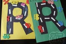 Shontae's alphabet crafts