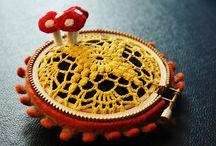 CROCHET.embroidery hoop / by Tia Mia  ♥