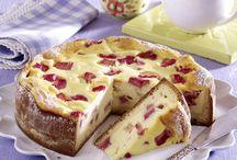 Kuchen und Torten / Rhabarber-Käsekuchen