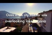 Property videos of Ticino's finest real estates / You will find some selected property videos for sale of our portfolio.