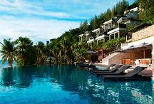 Luxury Travel // Wanderlust / A board full of luxury travel wanderlust!