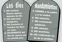 Los 10 mandamientos de Dios