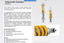 Chevrolet Camaro / Nuovo kit Road&Track Öhlins per Chevrolet Camaro.  Per informazioni contattate la mail marco.pierini@andreanigroup.com