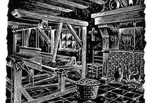 Exlibris / Bookplates - industry & mining